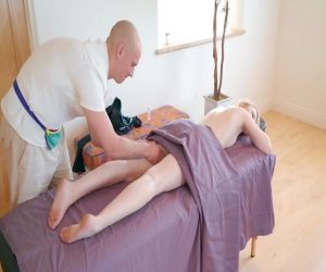 Massage endet mit muschi hardcore für Lily Rader